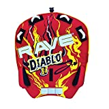 RAVE Sports 02318 Diablo II 2-Rider Towable