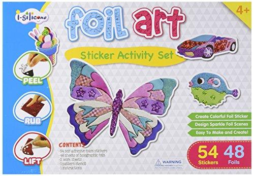 Foil Art Sticker Activity Set (Foil Art Kits)