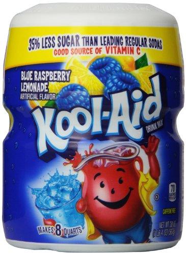 Kool-Aid Blue Raspberry Lemonade Drink Mix, 20 Ounce (Pack of 6) (Lemonade Raspberry)