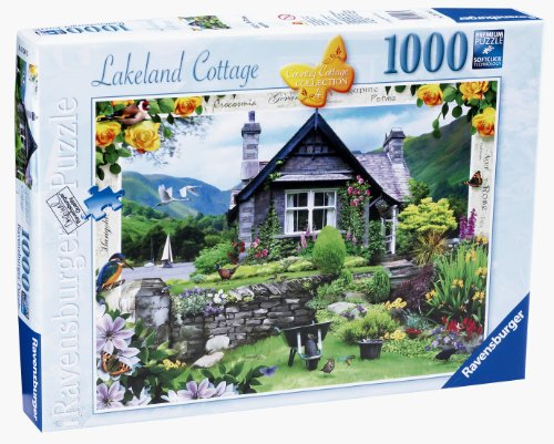 Tulip Country Cottage - Ravensburger Country Cottage Coll 1000 Piece Puzzle