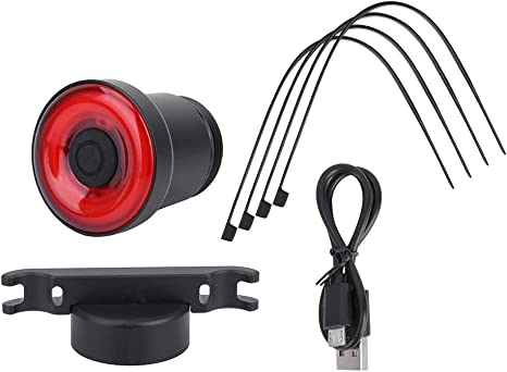 DEWIN Sensor de Bicicleta luz de Freno - USB de Carga Inteligente ...