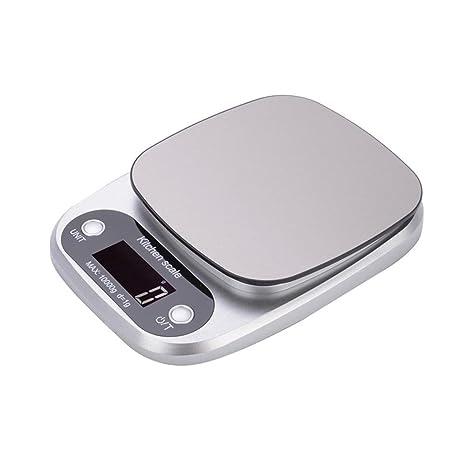Báscula de cocina digital Báscula de cocina electrónica portátil de cocina Hanmir con pantalla LCD de