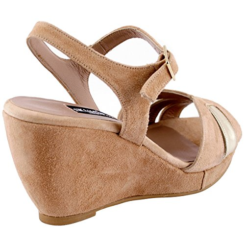 Sandals Women's Paris Fashion Beige Exclusif xTUFq1
