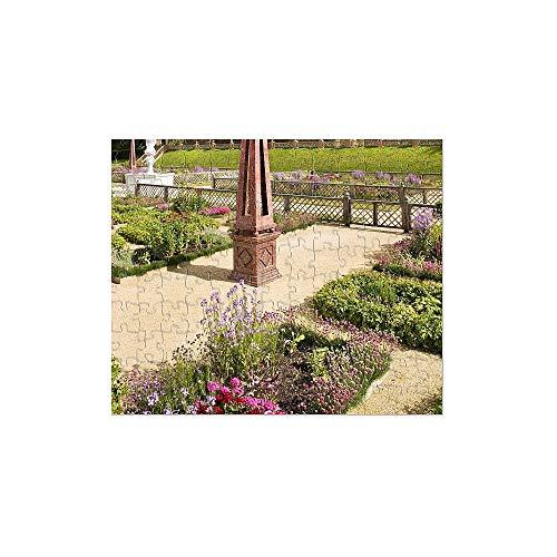 252 Piece Puzzle of Kenilworth Castle Elizabethan Garden N090442 (1991311)