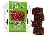 Chunkie Dunkies RAW VEGAN Mint Chocolate Chip Cookies 4 Packs (16 oz))