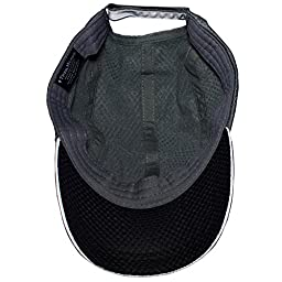 TrailHeads Race Day Running Cap - charcoal