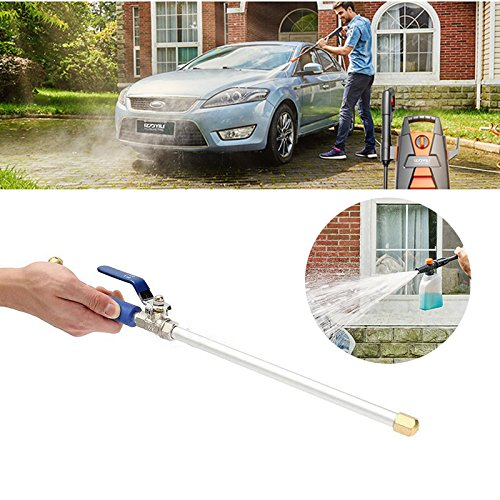 Springdoit High-pressure cleaning water gun, aluminum alloy rust and anti-corrosion structure, saving time and effort, water-saving garden watering car cleaning tools