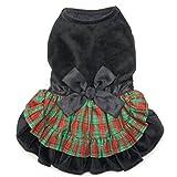 Zack & Zoey Radiant Tartan Dress, XX-Small