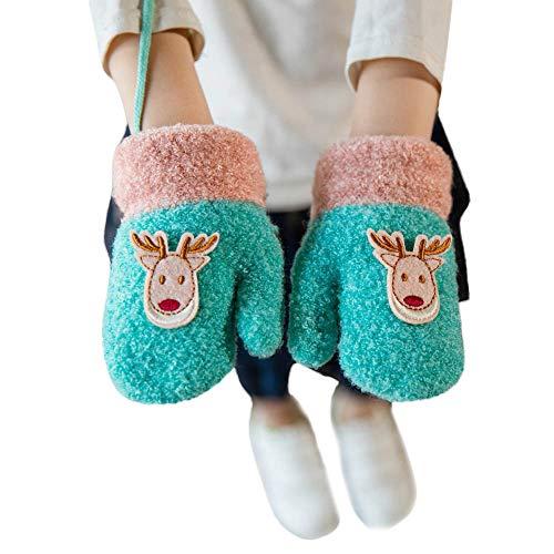 Christmas GlovesToddler Baby Boys Little Deer Warm Christmas Gloves