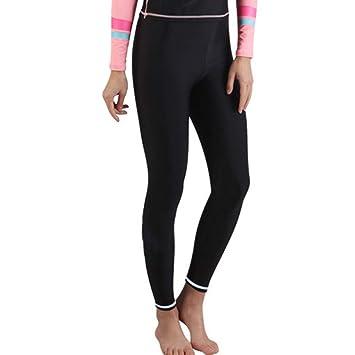 QSFDM Traje de Buceo Mujeres Snorkel Leggings Traje de ...