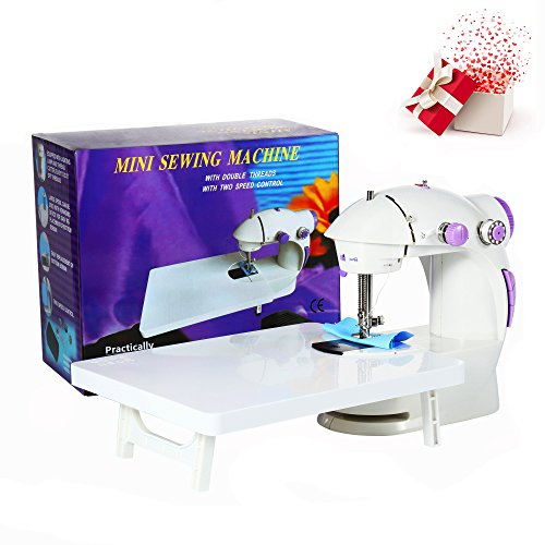 Varmax 201 Mini Sewing Machine with Extension Table