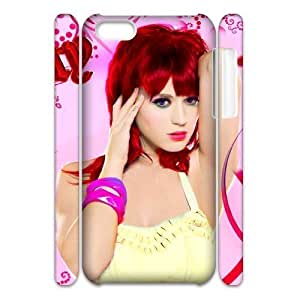LJF phone case C-EUR Diy 3D Case Katy Perry for ipod touch 4