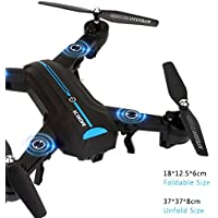 [A6w Drone] Mini A6 Foldable With Wifi FPV HD Camera 2.4G 6-Axis Quadcopter (2 Million Pixel Wide Angle)