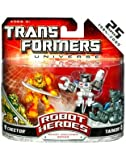 Transformers Universe: Robot Heroes Generation 1 Series Cheetor & Tankor Action Figure 2-Pack