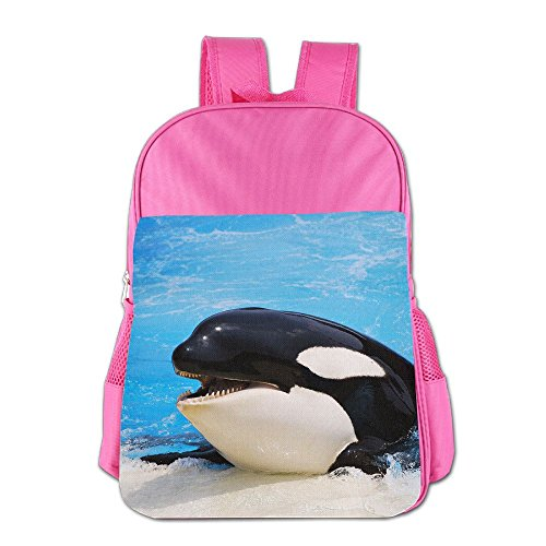 Bear Carrying On Shoulders Costume (Cute Cute Thickened Canvas School Backpack Laptop Bag Shoulder Daypack Handbag)