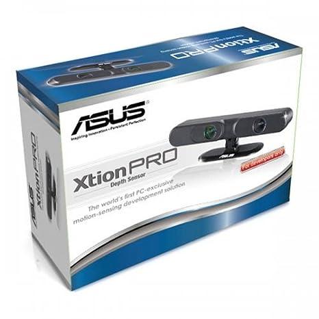 ASUS XTION PRO LIVE Negro sensor de movimiento multimedia - Sensores de movimiento multimedia (Windows 7 Home Premium,Windows 7 Home Premium x64,Windows 7 ...