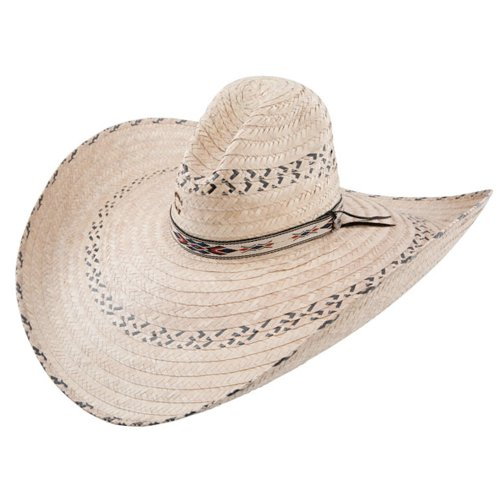 Natural Straw Sombrero (Charlie 1 Horse Men's Mariposa Straw Cowboy Hat Natural One Size)