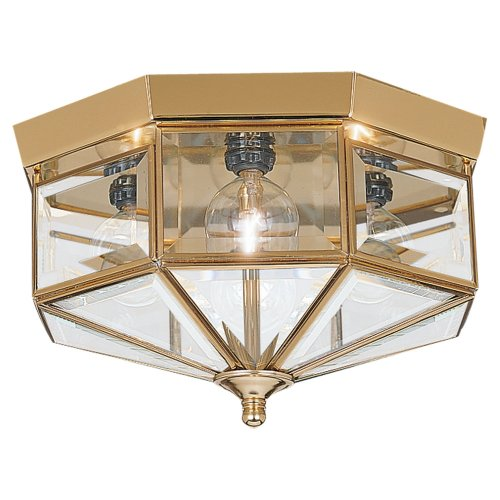Sea Gull Lighting 7662-02 Four Light Flush Mount Ceiling Fixture, 11
