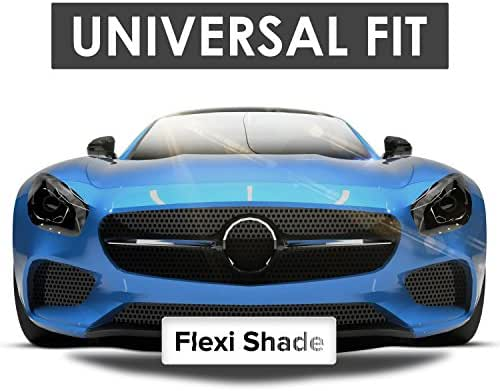 Flexi Shade Windshield Sun Shade + 2 Bonus Products. New Upgraded Premium Design, Universal Fit Car Sun Shade, Sunscreen Windshield UV Protector,Keeps Your Vehicle Cool. (Just released)