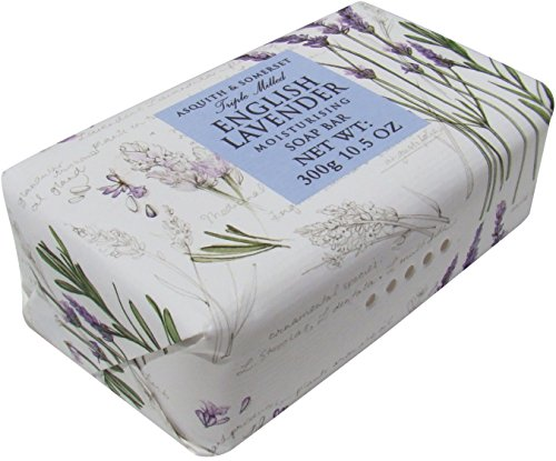 Asquith & Somerset English Lavender Moisturizing Triple Milled Soap 10.5 (Somerset Tub)