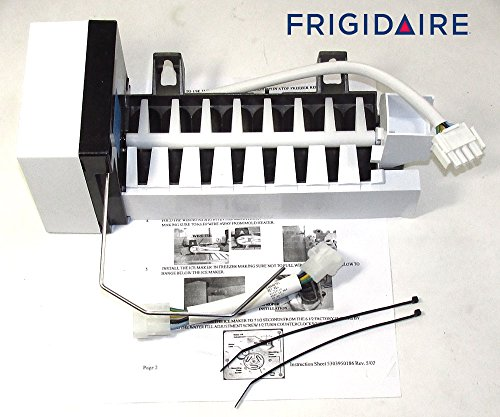 241798209 FACTORY ORIGINAL OEM FRIGIDAIRE ELECTROLUX ICE MAKER KIT WITH POWER ADAPTER (Electrolux Ice Maker For)