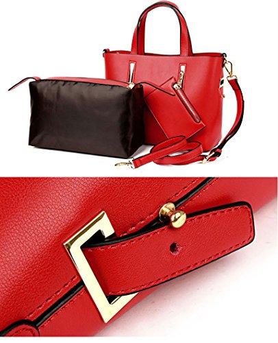 Borsa Grey Handbag grigio 568 Mano Nuclerl A Donna 7UxqWBf