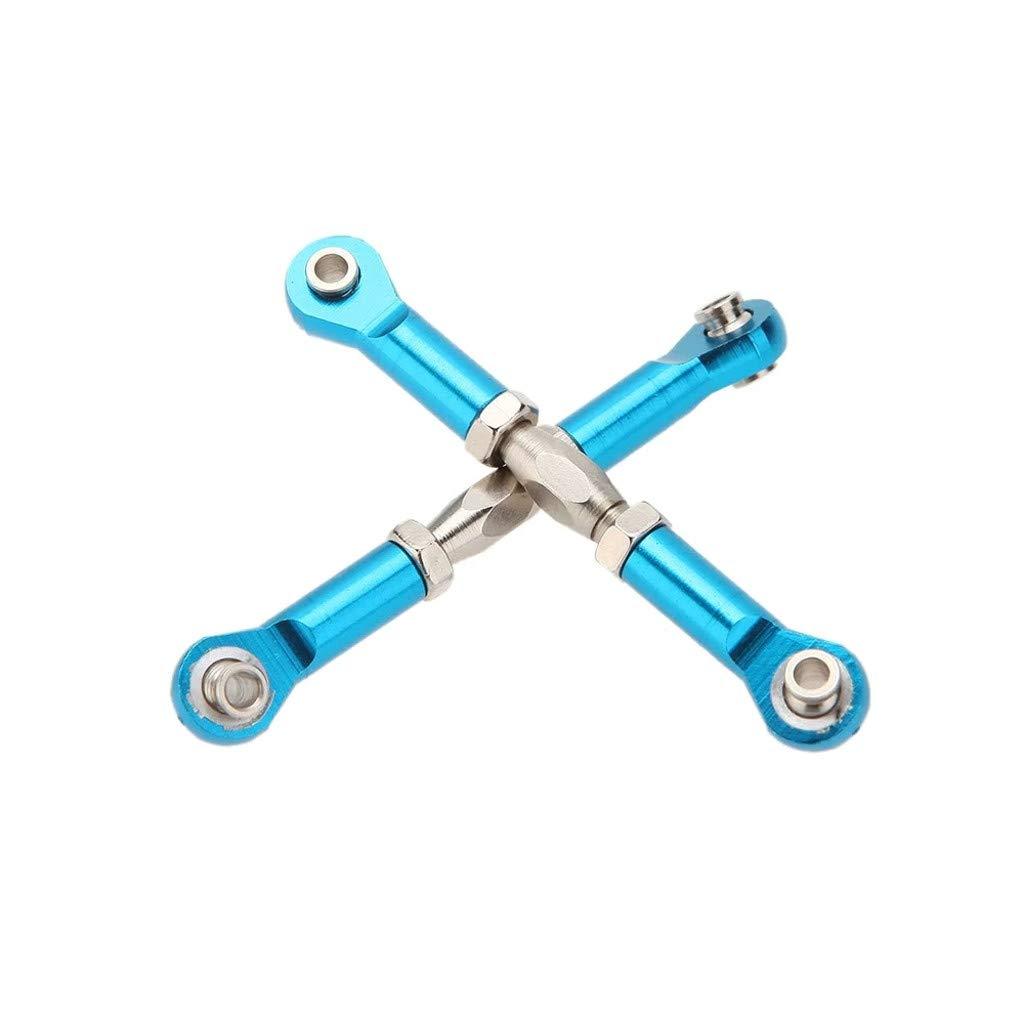 Amazon.com: LtrottedJ 166017 Upgrade Parts Blue Aluminum Servo Linkage for HSP RC 1:10 Car: Toys & Games