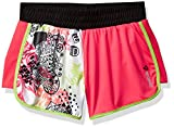 Reebok Big Girls' Color Block Short, Berry Pink, 12/14