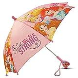 Disney Girls' Little Princess Character Rainwear Umbrella, Pink, Age 3-7