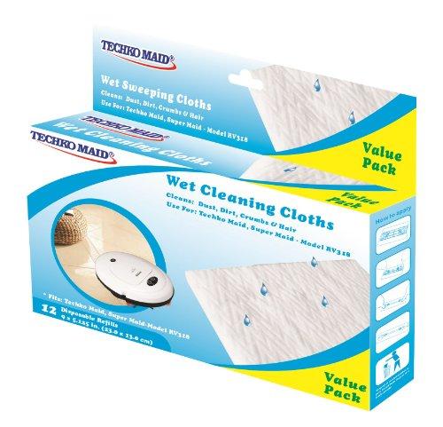 Techko Kobot 12 pk Wet Disposable Cleaning Cloths (For RV...