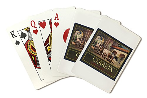 carreta-brand-claremont-california-citrus-crate-label-playing-card-deck-52-card-poker-size-with-joke