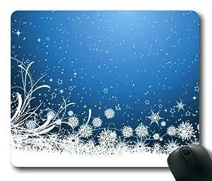 Lilyshouse Snowflake Design 002 Rectangle Mouse Pad