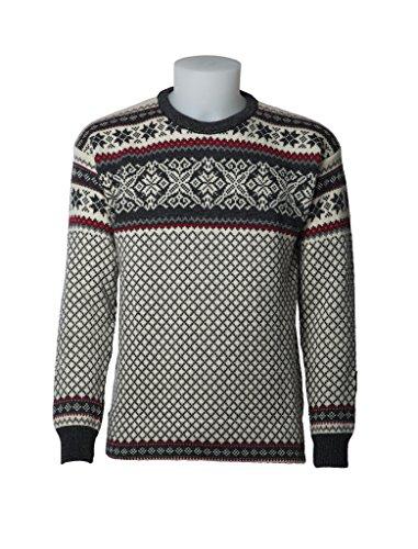 Norlender 100% Norwegian Wool Osteroy Sweater w/Free 100% Wool Ski Cap by Norlender
