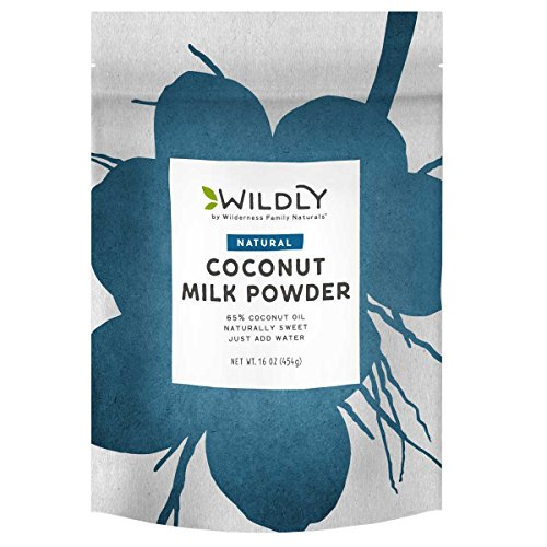 Wilderness Family Naturals, Conventional Coconut Milk Powder, 1 Pound - It Tastes Great!