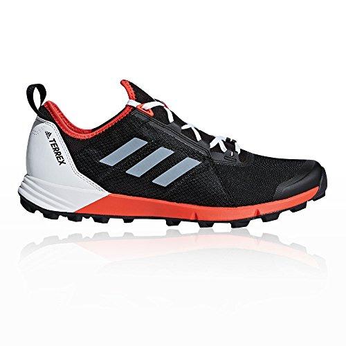 adidas Terrex Agravic Speed, Chaussures de Trail Homme, Hi-Res Red Core Black Orange, 8 UK