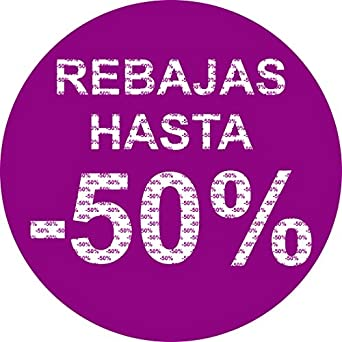Vinilo Rebajas 80x80cm | Personaliza Descuento de las ...