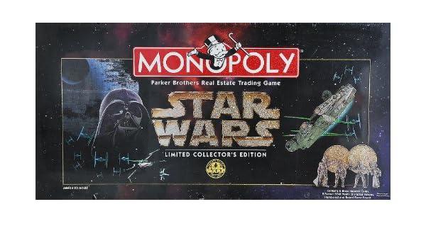 Parker Bros Board Game 40786 - Monopoly Star Wars Episode 1 Collectors Edition: Amazon.es: Juguetes y juegos