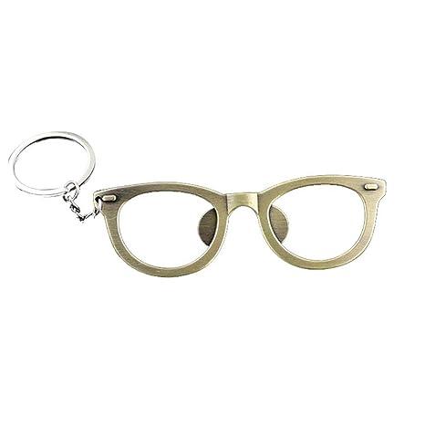 Llavero con abrebotellas de cerveza con forma de gafas ...