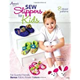 Sew Slippers for Kids: 8 Slipper Patterns (Annie's Sewing) by Julie Johnson (2012) Paperback