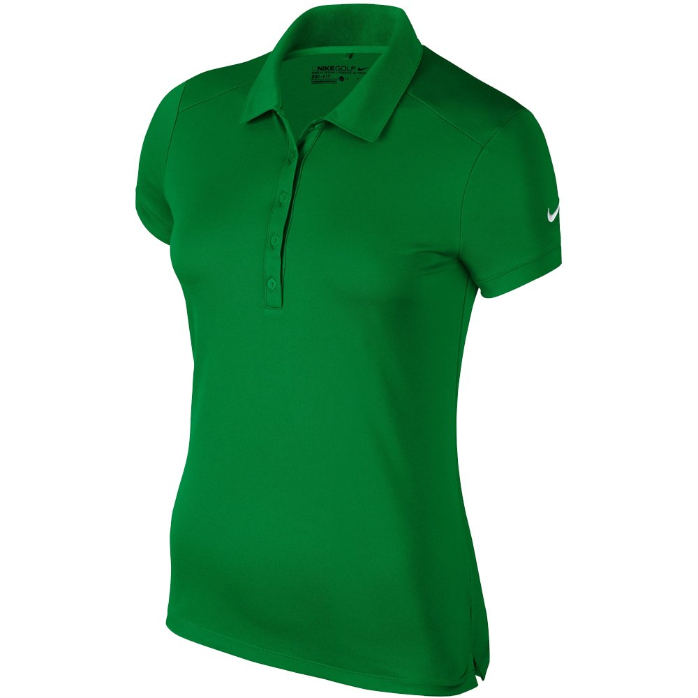 Nike Victory Solid Golf Polo 2015 Ladies Classic Green X-Small
