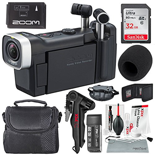 Zoom Q4n Handy Video Recorder + Travel Bag, 32GB+ Basic Accessories and Fibertique cleaning cloth by Photo Savings (Image #9)