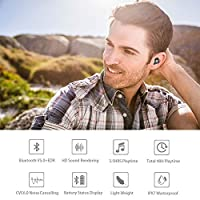 Wireless Earbuds,GAEKCE Latest Bluetooth 5.0 True Wireless Bluetooth Earbuds 48H Playtime 3D Stereo Strong Bass Sound and IPX7 Professional Waterproof with Portable Charging,Built-in Microphone from Gaekce