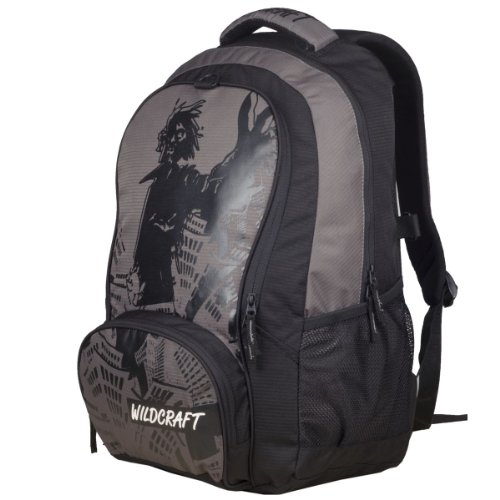 Wildcraft Blaze Polyester 31 Ltrs Grey Laptop Bag