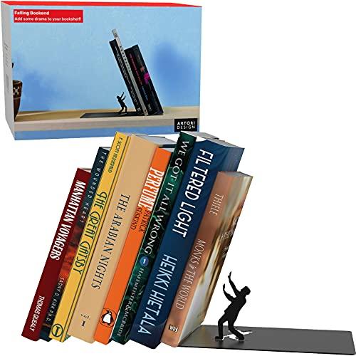 sujeta libros decoracion edicion falling