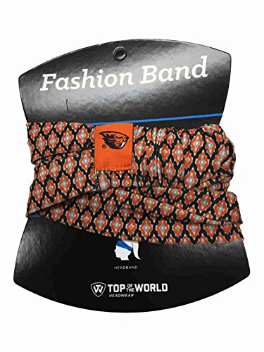 Top of the World Oregon State Beavers TOW Women's Orange Ultra Soft Kitty Fashion Headband by Top of the World