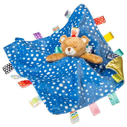 Taggies Chara Counter Blanket, Starry Night Teddy (Security Blanket Teddy Bear)