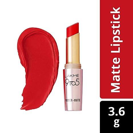 109882c9f Buy Lakme 9 to 5 Matte Lip Color