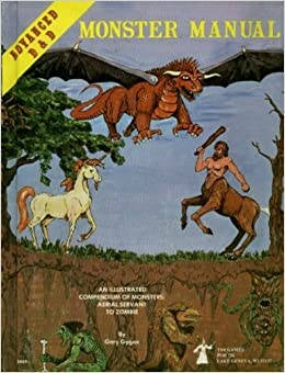 Advanced dungeons and dragons monster manual: special reference.