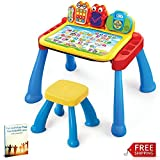Baby Learning Activity Table Toddlers Infant Toys Kids Musical Creativity Table with Chair Educational & eBook by AllTim3Shopping