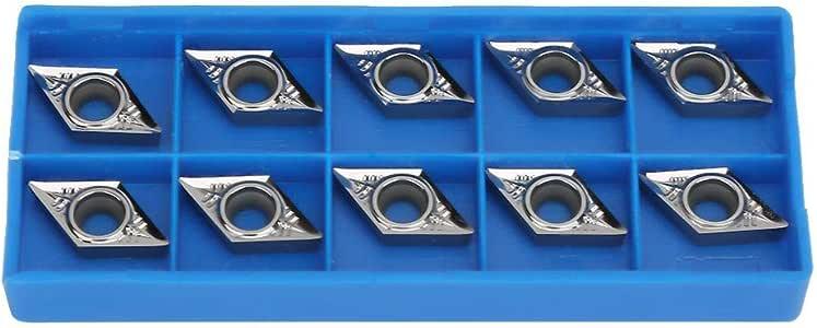 AK H01 DCGT32.51 Carbide inserts Cutting tools 10pcs for Aluminum DCGT11T304